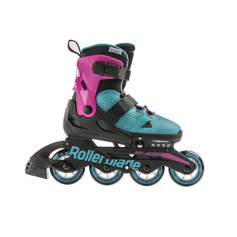 Дитячі ролики Rollerblade Microblade G pink emerald green 2020