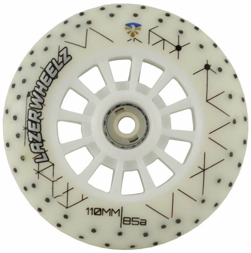 Светящиеся колеса для роликов Flying Eagle Lazerwheels Whitefire