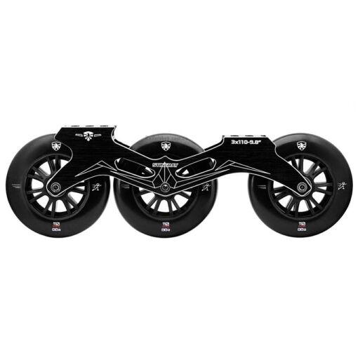 Сет Flying Eagle Stingray Black + Speed Wheels 88A