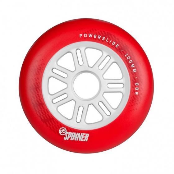 Колеса для роликов Powerslide Spinner 110mm/88a Full Profile Red (3шт)
