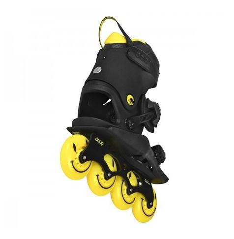 Ролики Doop Freestyle 2 Black/Yellow skates