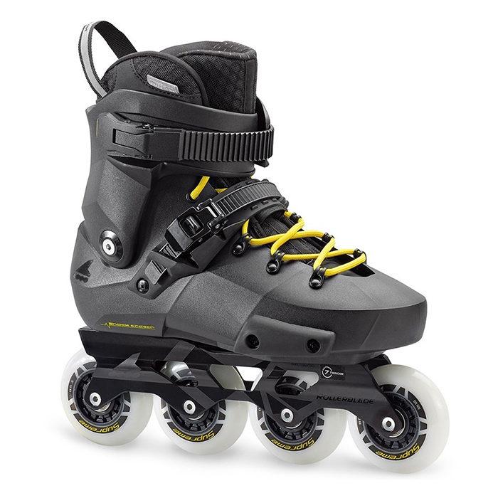 Ролики Rollerblade Twister Edge black/yellow '18