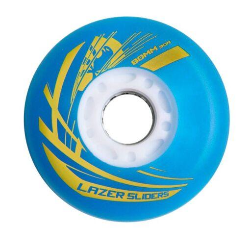 Светящиеся колеса для роликов Flying Eagle Lazer Sliders