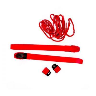 Бакли и шнурки красные Usd
