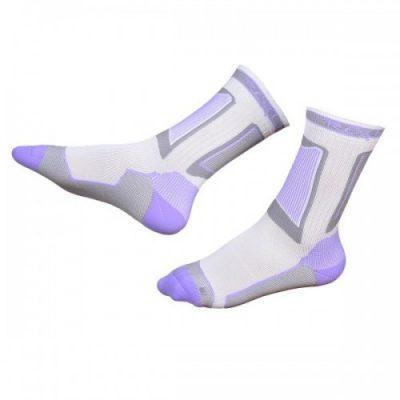 Носки для роликов Rollerclub Perfomance (Бело-Лиловые)