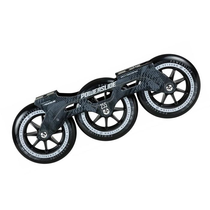 Рамы Powerslide - Megacruiser Frame Set 3x125mm - black