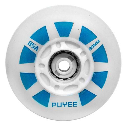 Светящиеся колеса для роликов Puyee Led