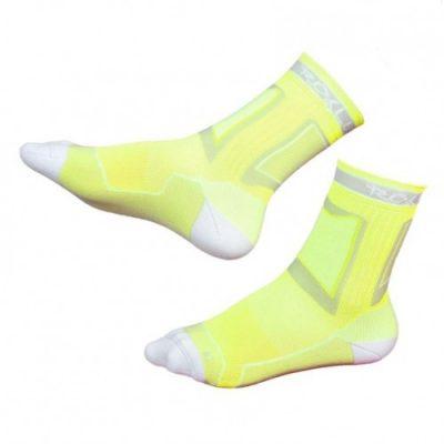 Носки для роликов Rollerclub Perfomance (Лимонно-Белые)