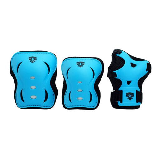 Детский комплект защиты Flying Eagle V5 blue