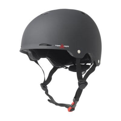 Шлем Triple Eight Gotham Dual Certified Helmet with EPS Liner Black Rubber