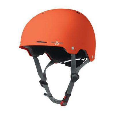 Шлем Triple Eight Gotham Orange Rubber