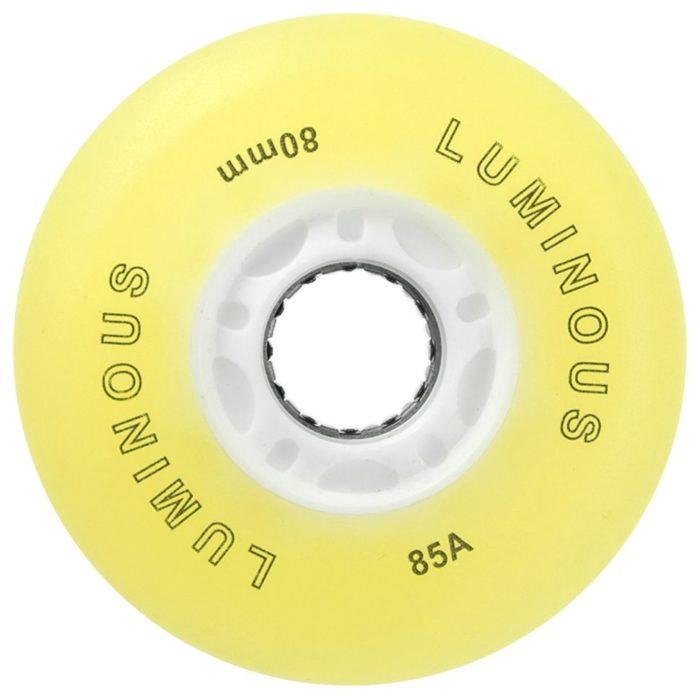 Светящиеся колеса для роликов Seba Luminous