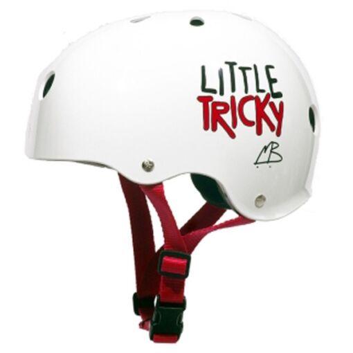 Шолом Triple Eight Little Tricky Helmet White Glossy