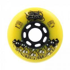 Колеса для роликів FR STREET INVADERS yellow