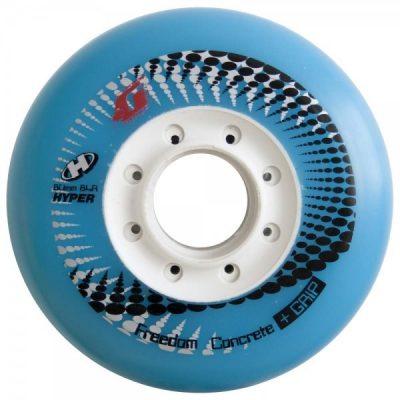 Колеса для роликов Hyper Concrete Limited + Grip LIGHT BLUE