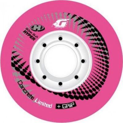 Колеса для роликов Hyper Concrete Limited + Grip Pink