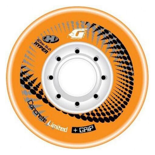 Колеса для роликов Hyper Concrete Limited + Grip Orange