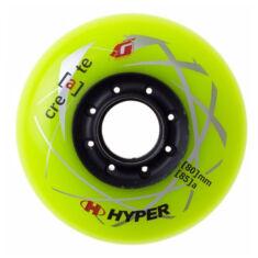Колеса для роликов Hyper Create + Grip Green