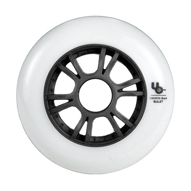 Колеса для роликов UNDERCOVER Team White 90mm/86A (6шт)