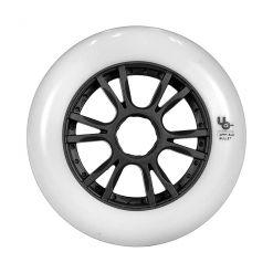 Колеса для роликів UNDERCOVER Team White 110mm/86A (6шт)