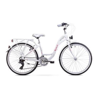 Десткий велосипед Romet Panda 24 white