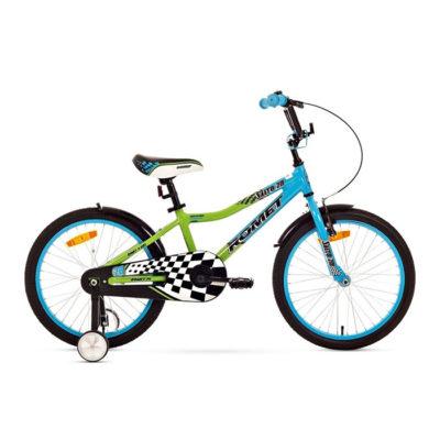 Десткий велосипед Romet Salto 20 blue-green