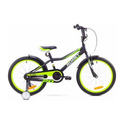 Десткий велосипед Romet Tom 20 black-green