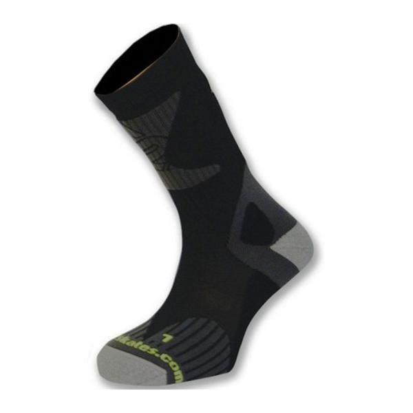 Носки для роликов K2 X-training skate socks black-lime