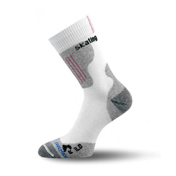 Носки для роликов Lasting Coolmax White