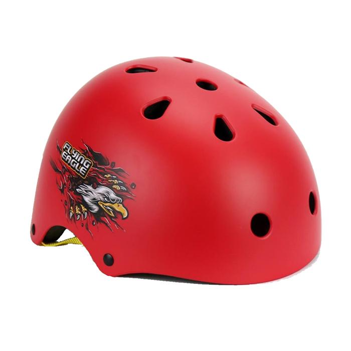 Шлем Flying Eagle Pro Skate Helmet red/orange