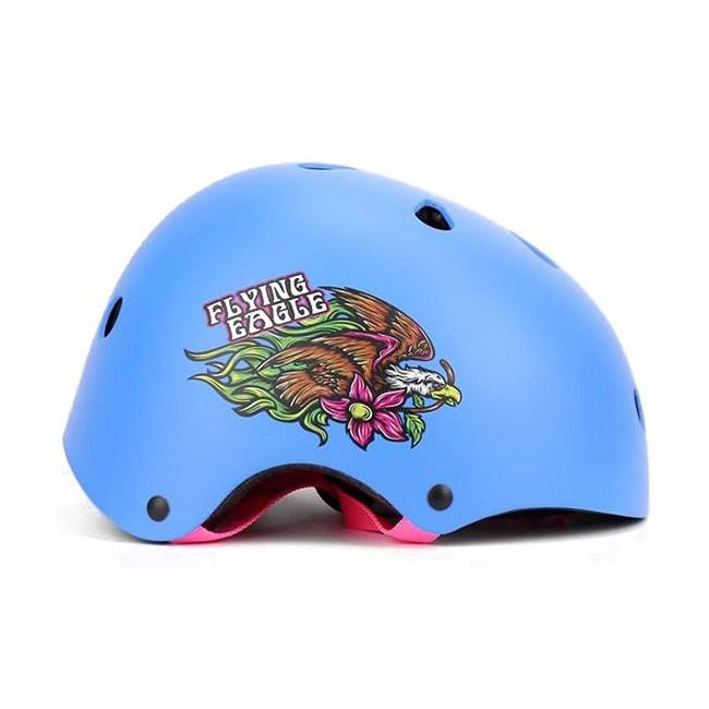 Шлем Flying Eagle Pro Skate Helmet blue