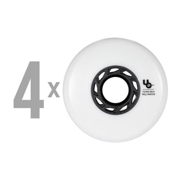 Колеса для роликов UNDERCOVER TEAM White 76mm/86A