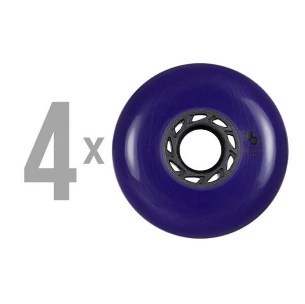 Колеса для роликов Undercover Blank 80mm/86a violet