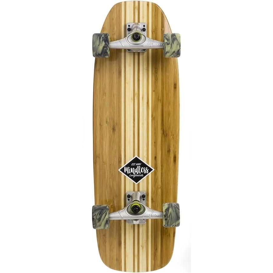 Лонгборд Mindless Surf Skate Bamboo natural