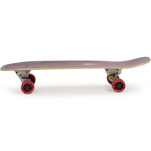 Лонгборд Mindless Surf Skate maroon