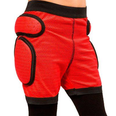 Детские защитные шорты Sport Gear Red