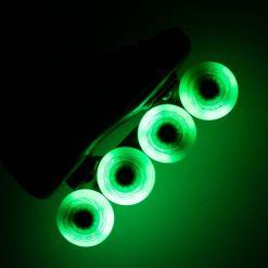 Светящиеся колеса Flying Eagle Lazerwheels Green