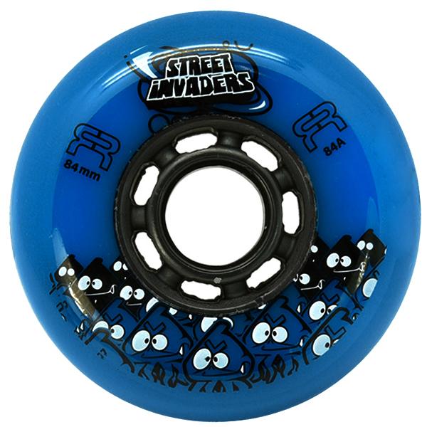 Колеса для роликов FR STREET INVADERS blue