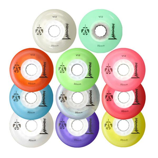 Светящиеся колеса для роликов FR Skates Luminous LED