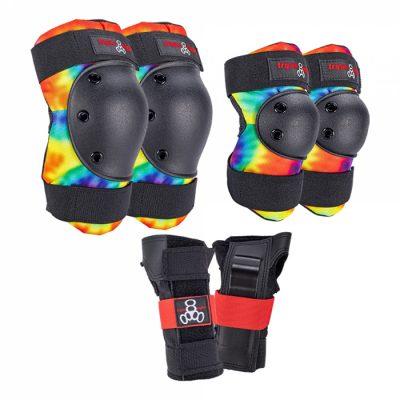 Комплект защиты Triple Eight Saver Series Tie Dye 3-pack