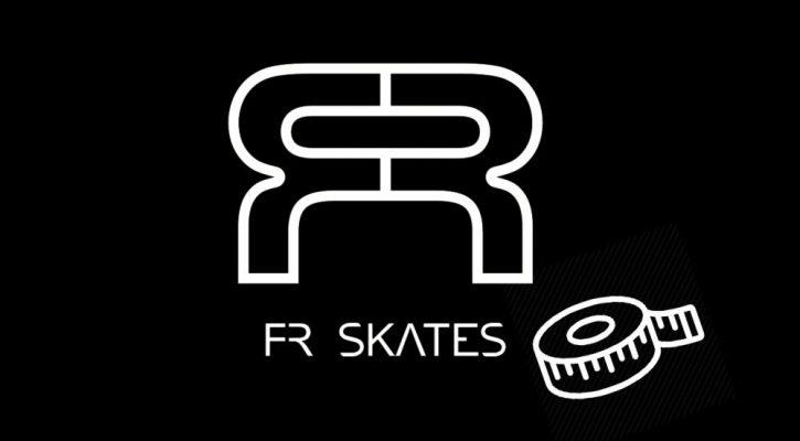 Размерная сетка роликов FR Skates