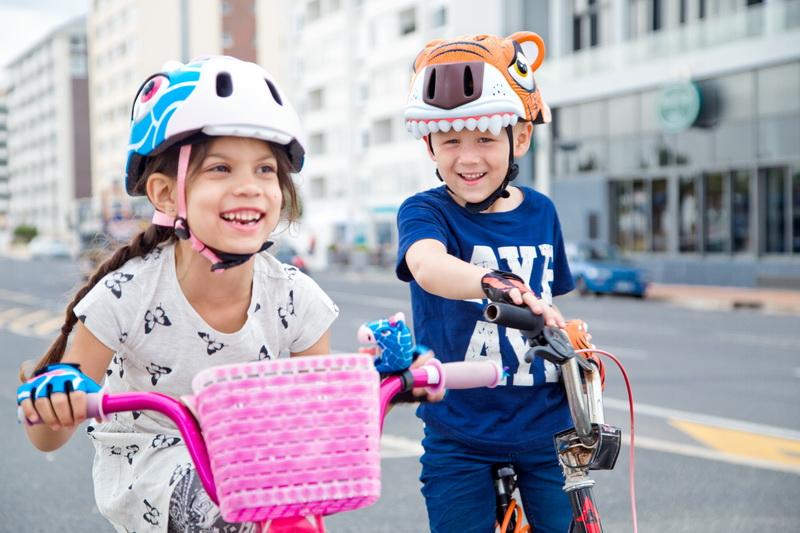 Детские шлемы Crazy Safety