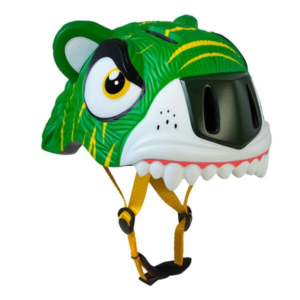 Шлем Crazy Safety Green Tiger