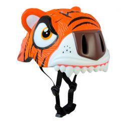 Шолом Crazy Safety Orange Tiger