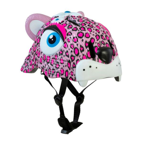 Шлем Crazy Safety Pink Leopard
