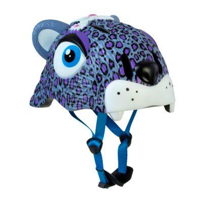 Шлем Crazy Safety Purple Leopard