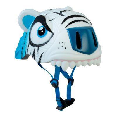 Шлем Crazy Safety White Tiger