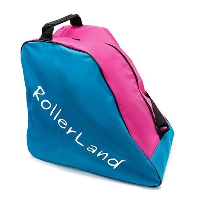 Сумка для роликов RollerLand pro girl cyan-pink