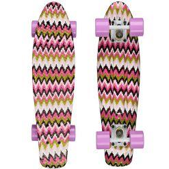 Круізер Candy Boards Candy 22 pink zigzag-lilac