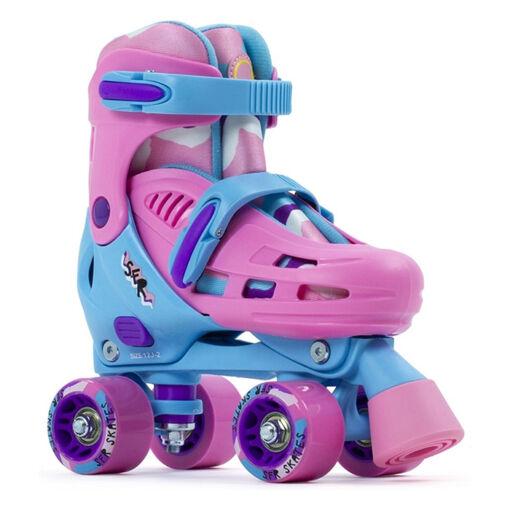 Дитячі ролики квади SFR Hurricane III pink-blue